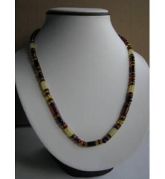 Поліроване намисто з бурштину для створення унікального стилю
