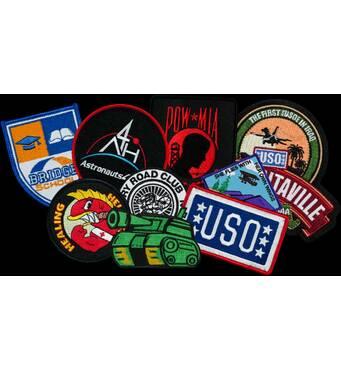 Машинная вышивка логотипов