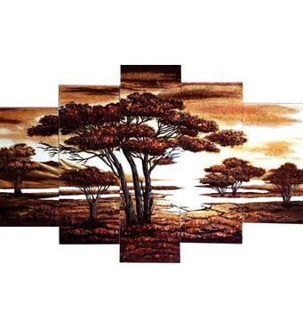 Модульні картини з бурштину — стильний елемент інтер'єру