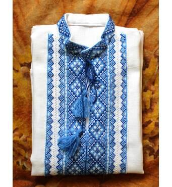 Рубашка вышитая для мальчика по доступным ценам у нас!
