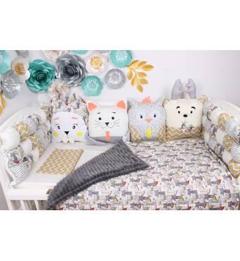 Оригінальні бортики в дитяче ліжечко в наявності!