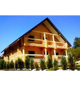 Будівництво дерев'яного будинку з бруса здійснює наша компанія