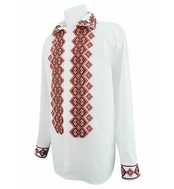 Чоловіча сорочка вишиванку купити у компанії Кирюшків
