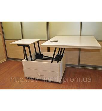Стол трансформер обеденный раздвижной по шок-цене.