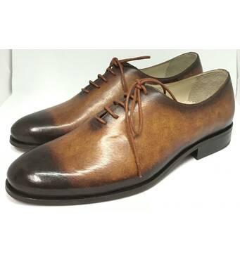 В продаже оксфорды мужские коричневые