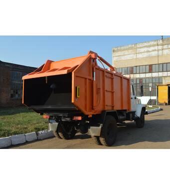 Реализуем мусоровозы с задней загрузкой