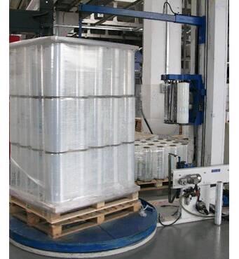 Стрейч пленка для машинной упаковки на заказ