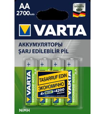 Акумулятор Varta AA 2700 mAh 4 шт