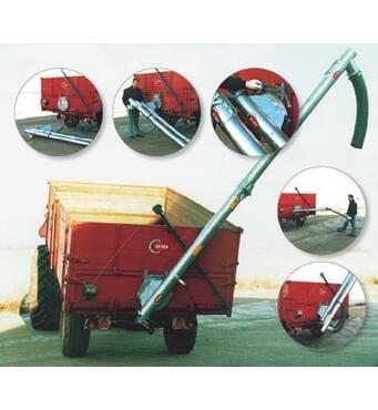 Шнековый транспортер зерна реализуем по доступной цене