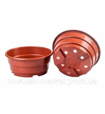 Пропонуємо придбати круглі низькі горщики для розсади