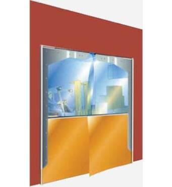 Купуйте розпашні двері гнучкий ПВХ