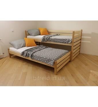 """Детская кровать с выдвижным спальным местом от ТМ """"Дримка"""""""