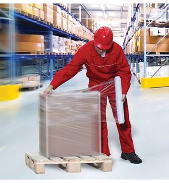 В наличии  стретч-пленка для транспортировки и хранения груза различного веса и объема