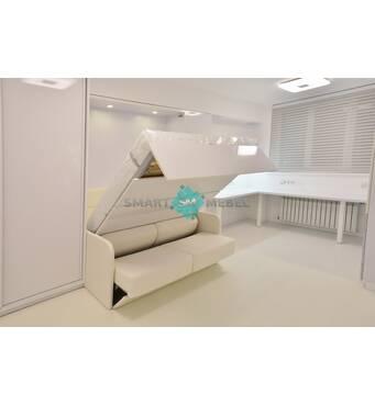 Обирайте підйомне ліжко шафу від компанії Smart Mebel