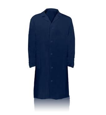 Придбайте халат синій оптом на нашому сайті для вашої роботи
