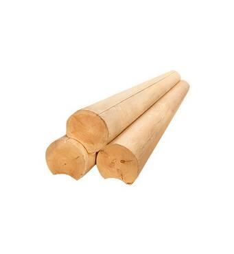 Для дерев'яного будинку пропонуємо обрати оциліндровані колоди