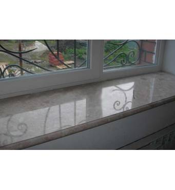Marble and granite window sills