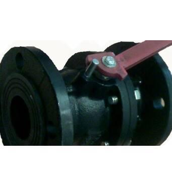 Пропонуємо 11ч2фт крани кульові чавунні фланцеві РУ16 ДУ50-150