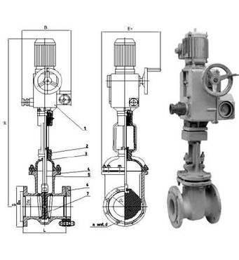 Предлагаем 30с941нж задвижку стальную РУ16 ДУ50-1000 под электропривод