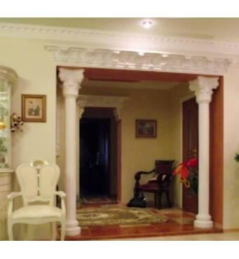 Gypsum moulding - fashionable,beautiul,eco-friendly,safe!