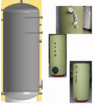 Бойлери для збереження та підігріву води в господарських потребах