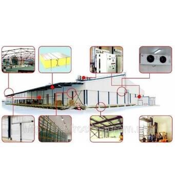Холодильные камеры для предприятий питания, шоковая заморозка, Украина