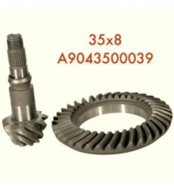 Пропонуємо купити задній міст Vario, а точніше головну пару редуктора A9043500039
