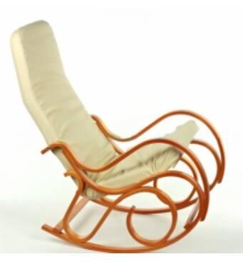 Деревянное кресло качалка - комфорта много не бывает!