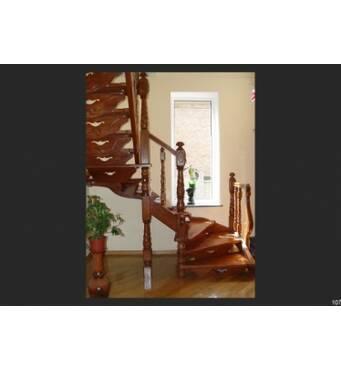 Вишукані гвинтові дерев'яні сходи у ваш дім!