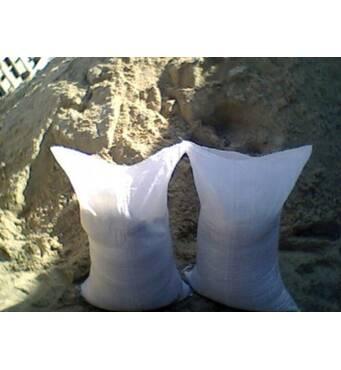 Песок в мешках речной, песок овражный в мешках, керамзит в мешках, цемент м400 м500, щебень, отсев