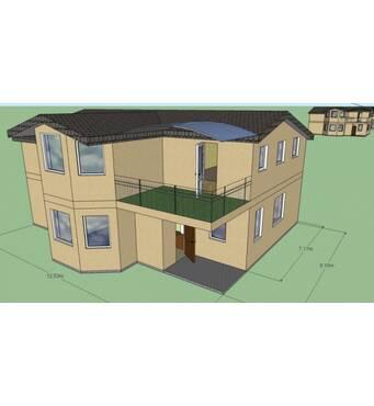 Построим капитальный монолитный дом. Площадь 242,5 м. кв.,2 этажа