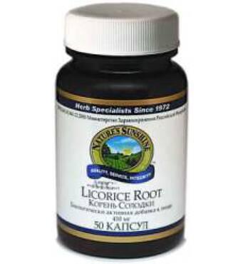 Корінь солодцю (Licorice Root), корень солодки NSP