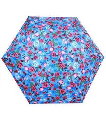 TRC Складной зонт Fulton Зонт женский компактный облегченный супертонкий механический FULTON FULL553-English-rose