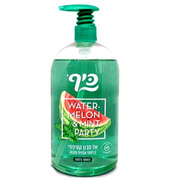 Рідке мило Keff  Кавун та м'ята Silky Soapless Soap Water melon & mint  1 л.