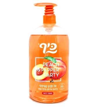 Рідке мило Keff  Персик та перець Silky Soapless Soap Peach & Pepper 1 л.