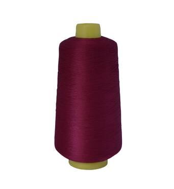Текстурированная нить 150D/1 №122 Бордовый