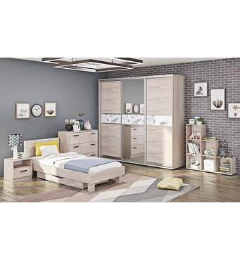Подростковая спальня Эко ДЧ-4118 по секциям
