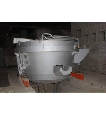 Дугова сталеплавильна піч змінного струму ДСП-3
