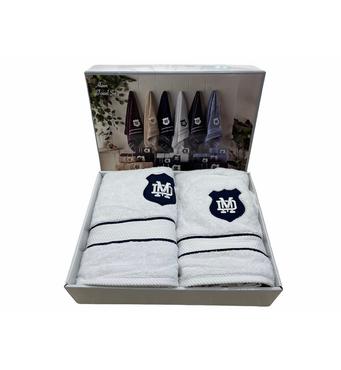 Набір рушників Maison D'or Alain White махрові 30-50 см, 50-100 см, 70-140 см білий