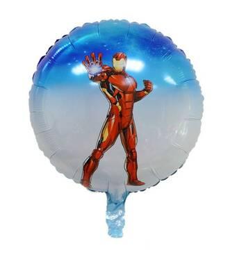 """Воздушный фольгированный шар """"Железный человек"""" (Китай)"""