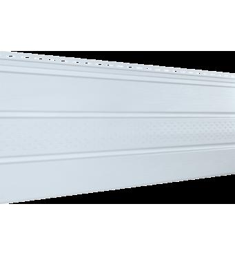 Софит серия Classic, Цвет: Белый (частично перфорированый)