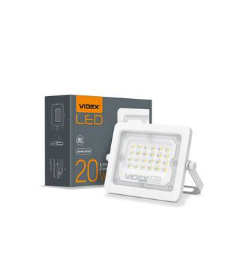 LED прожектор VIDEX 20W 5000K