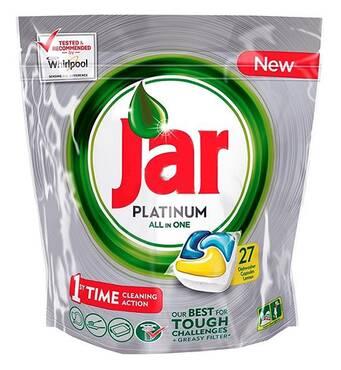 Капсулы для посудомойки Jar platinum 27 шт Бельгия