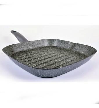 Сковорода -гриль TVS Mineralia Induction 28x28 см TVS - BS730282910201    (3-84)