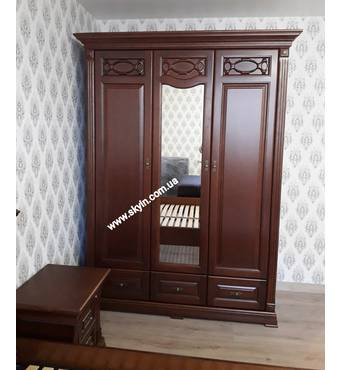 Шкаф 3х дверный Элеонора нова