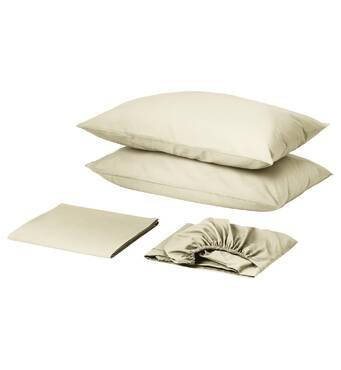 Комплект для круглой кровати с простынью на резинке Шампань