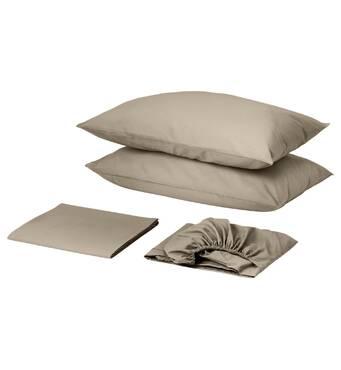 Комплект для круглой кровати с простынью на резинке Порох