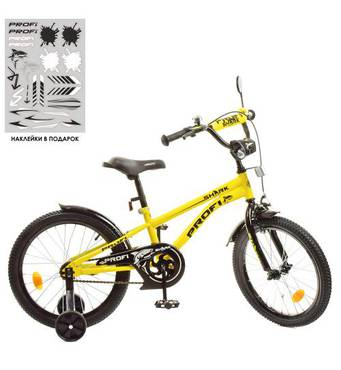 Велосипед детский PROF1 18д. Y18214