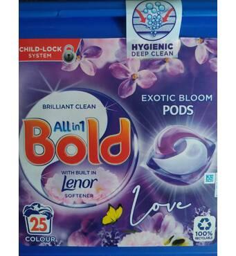 Капсулы Bold 3 в 1 для стирки 25 шт
