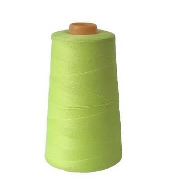 Армированная нить 28/2 2500м 501,  салатовый неон
